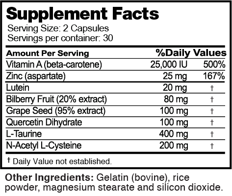 Sight nutrition facts